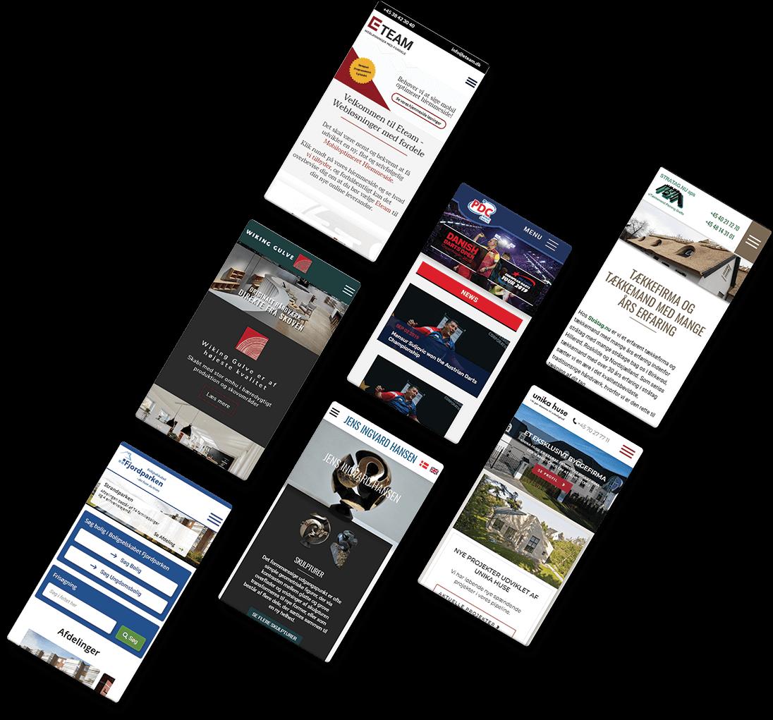 Tilbud på Hjemmeside - Få et et godt tilbud på en hjemmeside eller en webshop